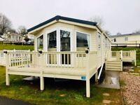 2013 Static Caravan For Sale with deck, Dawlish Warren, Devon Nr Paignton, Torquay, Brixham