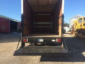 18' cube van body with power tailgate London Ontario image 1