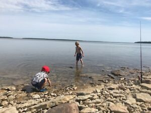 Hecla Island Lakefront Cottage FOR RENT