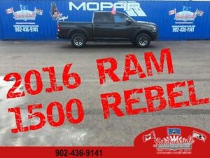 2016 Ram 1500 Rebel Air Ride Suspension, Back Up Camera