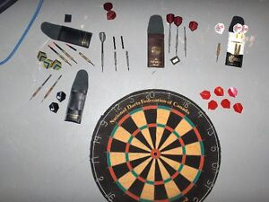 Dart Board and Darts for Games Room