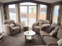 Double Glazed, central heated van, open planned, dog friendly, beach access, fishing lake