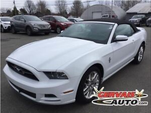 Ford Mustang Convertible V6 Premium Cuir MAGS 2014