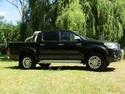 2014 Toyota Hilux KUN26R MY14 SR5 Double Cab Black 5 Speed Automatic Utility Hahndorf Mount Barker Area Preview