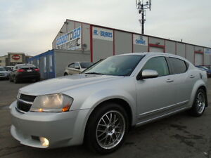 2008 Dodge Avenger R/T LUXURY SPORT PKG-LEATHER-SUNROOF--125K
