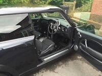 Black MINI Cooper 1.6 petrol - Full leather seats - Tinted rear windows - Fully valeted for sale