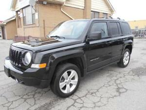 2013 JEEP Patriot Limited 4X4 2.4L Loaded Leather 130,000KMs