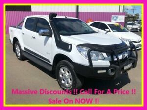 2013 Holden Colorado RG LTZ (4x4) White 5 Speed Manual Crew Cab Pickup Dubbo Dubbo Area Preview