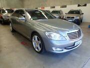 2006 Mercedes-Benz S500 V221 MY07 L Metallic Blue 7 Speed Sports Automatic Sedan Wangara Wanneroo Area Preview