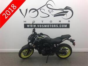 2018 Yamaha MT-07AJG - V3111 - No Payments For 1 Year**