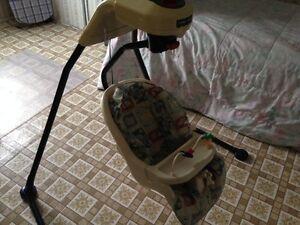 balançoire pour bébé