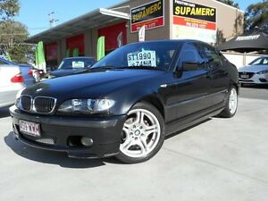 2004 BMW 318I E46 MY2004 Sport Steptronic Black 5 Speed Auto Steptronic Sedan Coopers Plains Brisbane South West Preview