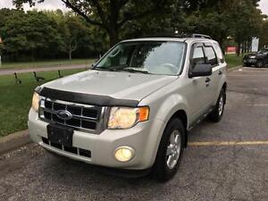 2009 FORD ESCAPE, LEATHER, ROOF, CERTIFIED