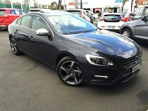 2014 Volvo S60 F Series MY14 T5 PwrShift R-Design Savile Grey 6 Speed Sports Automatic Dual Clutch Glen Iris Boroondara Area Preview