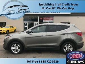 2013 Hyundai Santa Fe Sport 2.0T! LIMITED! LEATHER! PANO ROOF! C