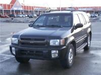 1999 INFINITY QX4 CERTIFY 3 YEARS P-T WARRANTY AVAILABLE