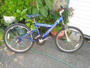 velo ado fille garcon 24in Dunlop montagne mountain bike