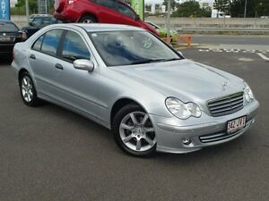 2006 Mercedes-Benz C200 W203 MY07 Upgrade Kompressor Classic Silver 5 Speed Auto Tipshift Sedan Wacol Brisbane South West Preview