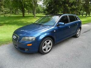 2006 Audi A3, Loaded, 6 speed, Panoramic Roof 2.0T $3250