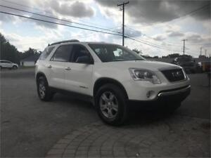 GMC ACADIA 2008 AWD 8 PASSAGERS FINANCEMENT DISPONIBLE