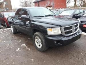 2008 Dodge Dakota SLT-4X4-Crew Cab-Low Kms-5Passengers-Hitch...