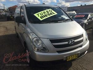2008 Hyundai iLOAD TQ Silver 5 Speed Manual Van Lansvale Liverpool Area Preview