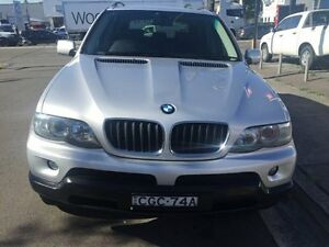2005 BMW X5 3.0D SPORT Silver Automatic Wagon Croydon Burwood Area Preview