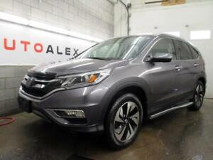 2016 Honda CR-V Touring AWD NAVIGATION CAMERA CUIR TOIT 76$/SEM