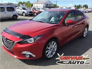 Mazda MAZDA3 GT Navigation Cuir Toit Ouvrant MAGS 2016