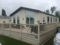 Static Caravan Lodge For Sale with decking - Park Resorts Great Yarmouth Norfolk