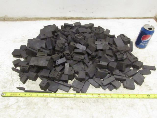 Carbon Graphite Scrap Pieces Mold Material 26.5 Lbs Various Shapes EDM Machine