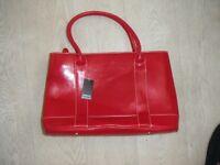Red 'Intrigue; Handbag - Unused with tag