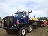 1986 Kenworth C500 T/A T/A Bed Truck