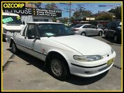 1997 Ford Falcon XH GLI Longreach White 4 Speed Automatic Utility Homebush Strathfield Area Preview