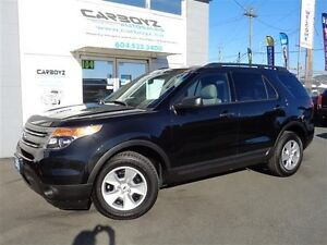 2013 Ford Explorer 4WD, 7 Passenger, No Accidents