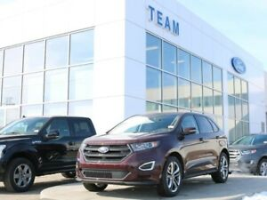 2018 Ford Edge SPORT, 401A, AWD, SYNC3, NAV, HEATED/COOLED SEATS