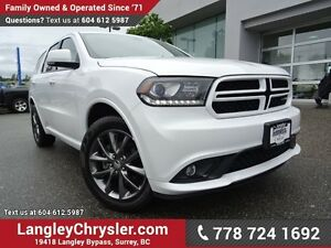2017 Dodge Durango GT ACCIDENT FREE w/ ALL-WHEEL DRIVE, LEATH...