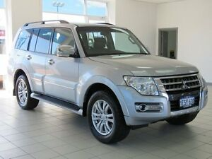 2015 Mitsubishi Pajero NX MY15 Exceed LWB (4x4) Silver 5 Speed Auto Sports Mode Wagon Morley Bayswater Area Preview