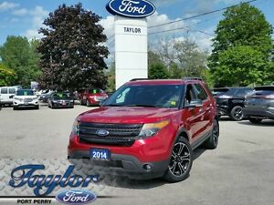 2014 Ford Explorer Sport *4WD* *LEATHER**NAV*SUNROOF*