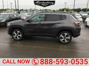 2017 Jeep Compass 4WD LATITUDE Heated Seats,  Bluetooth,  A/C,