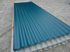 ROOFING IRON CORRO CATTAI GREEN - VARIOUS LENGTHS $10.95 L/M Jimboomba Logan Area Preview