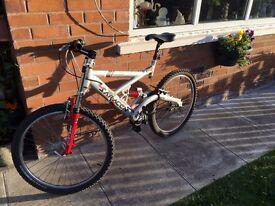 Adult Saracen Mountain Bike