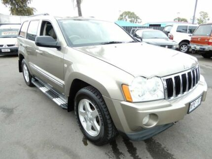 2007 Jeep Grand Cherokee WH MY2007 Limited Bronze Gold 5 Speed Automatic Wagon