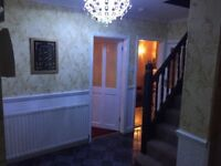 6 bedroom house to let hall green for rent fully furnished nearby school busses and train station