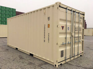 20' NEW One-Trip Shipping/Storage/Seacan Containers for SALE