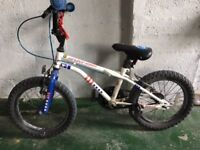 Two Apollo bikes 16inch for sale - buy both or separately.