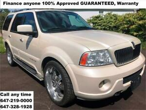 2004 Lincoln Navigator Ultimate FINANCE 100% APPROVED WARRANTY