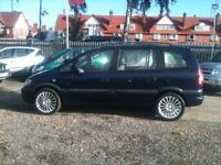 2001 VAUXHALL ZAFIRA 2.0 DTi Comfort 7 SEATER 12 MONTHS MOT and WARRANTY AVAIL