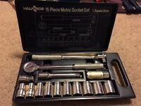metric socket set