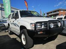 1999 Toyota Hilux LN167R White 5 Speed Manual Utility Greenslopes Brisbane South West Preview